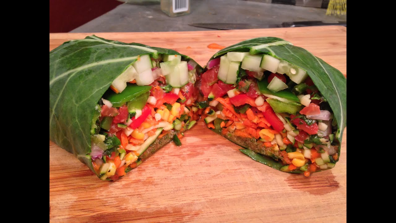Super easy raw vegan burrito better than chipotle youtube forumfinder Choice Image