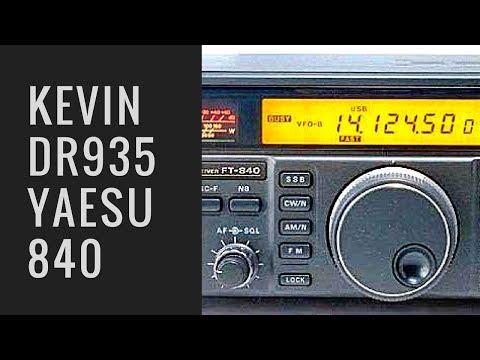 Kevin DR935 on Yaesu 840 SSB 11 meters.