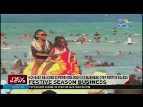 Mombasa beaches experiences booming business over festive season