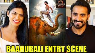 BAAHUBALI 2 - Prabhas Entry Scene REACTION!! | Bahubali entry scene