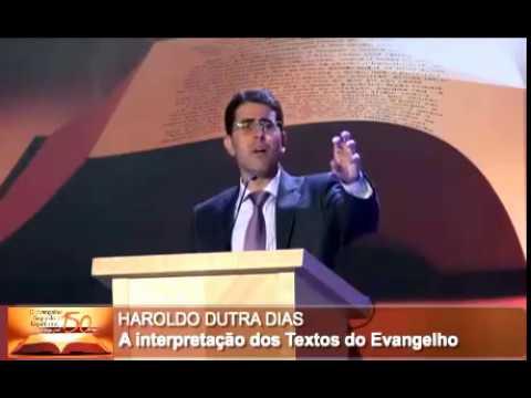 Haroldo Dutra Dias / A Interpretação dos Textos do Evangelho por Allan Kardec - 1ª parte / XVI CEE