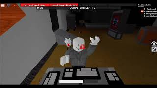 escaping from the new airport in Roblox FTF