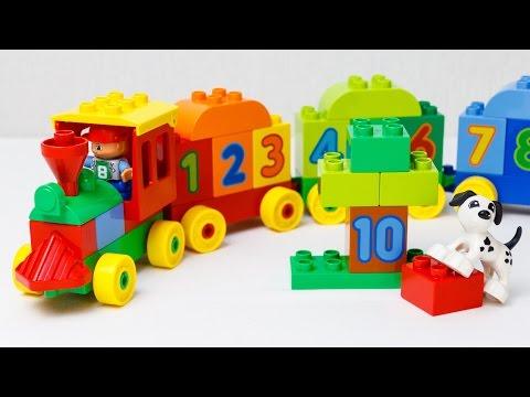 Конструктор Лего поезд