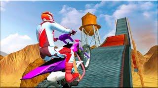Bike Stunts Free #2 - Gameplay Android game - Bike Stunts Games Free