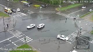 Авария в Красном Селе 20.05.21