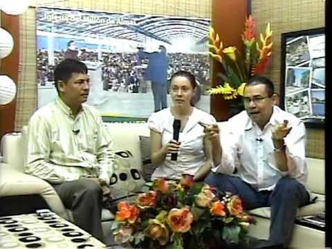 2/3 ¡ IMPRESIONANTE ! Entrevista en Television Local de Cristolibera en Colombia