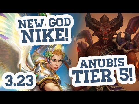 NEW GOD NIKE! + T5 ANUBIS – Patch Notes 3.23 Traduzidos! –  Asas da Vitória!
