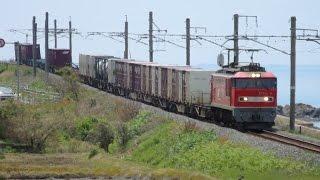 列車番号4091 EF510-6 羽越本線(村上~間島)>60P