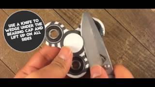fidget spinner trick compilation