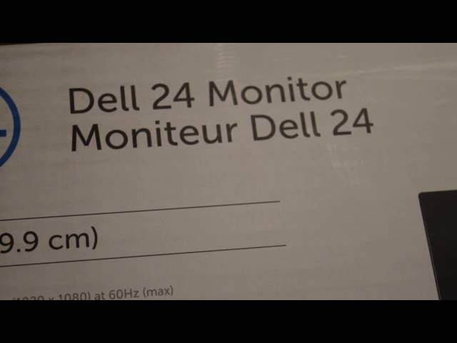 NEW DELL MONITOR UNBOXING!!!!! | GREAT ASS DEAL!