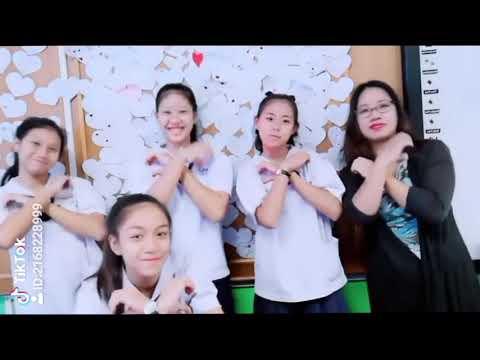 TIKTOK HEARTBEAT Dance Challenge | Teacher And Students