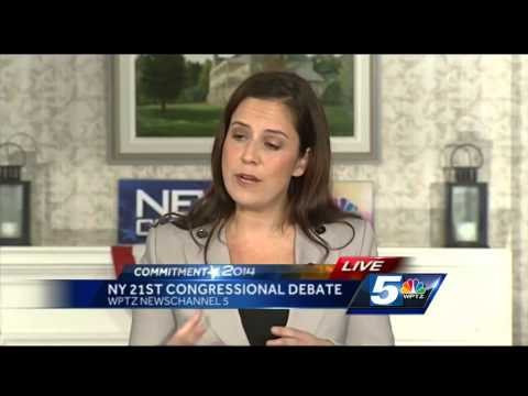 Commitment 2014: New York's 21st Congressional District Debate