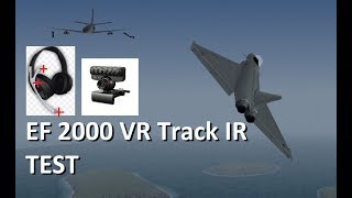 EF2000 Track IR VR Test DID PC Game Flight Simulator