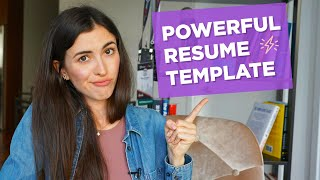 How to write a strong resume/CV (WITH A TEMPLATE) (Get Accepted to Your Dream University Part #12)