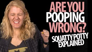 Are You Pooping Wrong? Squatty Potty Explained