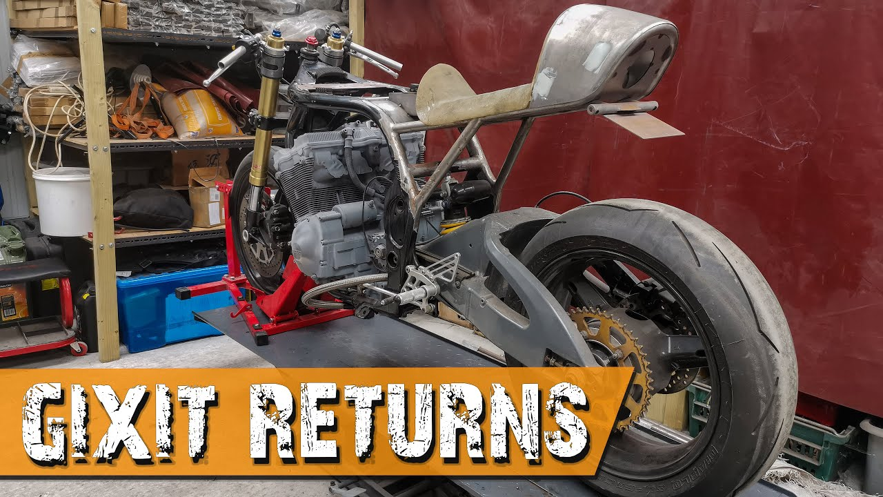 Back on GIXIT - Suzuki Bandit Cafe Racer - GIXIT Project Part 41