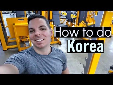 Gyms in Korea - HOW TO DO KOREA