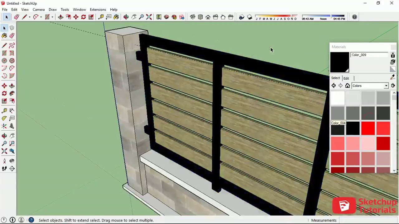 Modern House Fence Design Philippines (see description ...  Simple Modern Fences