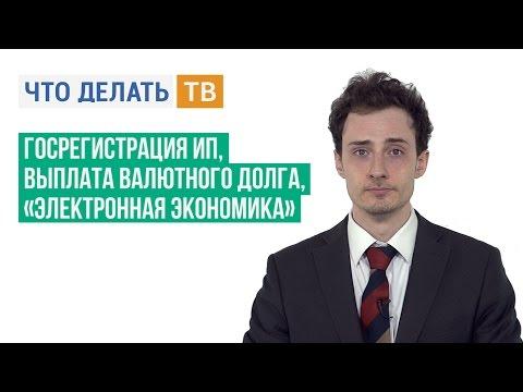 Реквизиты госрегистрации ИП, выплата валютного долга, «Электронная экономика»