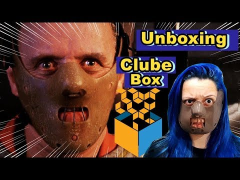 Unboxing CLUBE BOX - Temporada de Horror Caixa 32