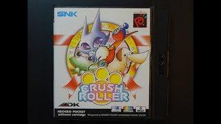 Crush Roller Playthrough - Neo Geo Pocket Color. Original Hardware