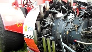 Amerikanischer Sternmotor Extrem Perfect 18 Cylinder Radial Engine - Curtiss Wright R3350