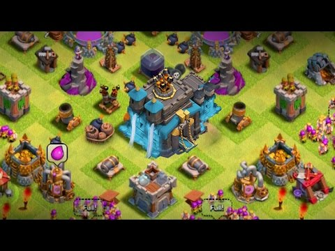 COC OMG!!! NEW TH12 MODDED UPDATE 2017 | COC PRIVAVE SERVER