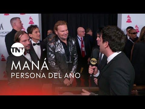 Alfombra roja con Maná | Latin GRAMMY® 2018