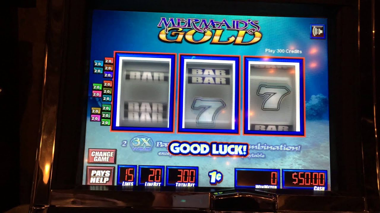 mermaid gold slot machine