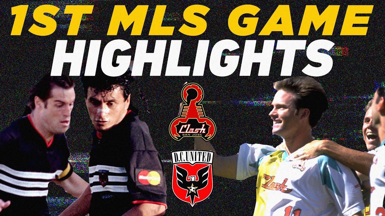First-Ever MLS Game: San Jose Clash vs. D.C. United | 1996 Classics Highlights