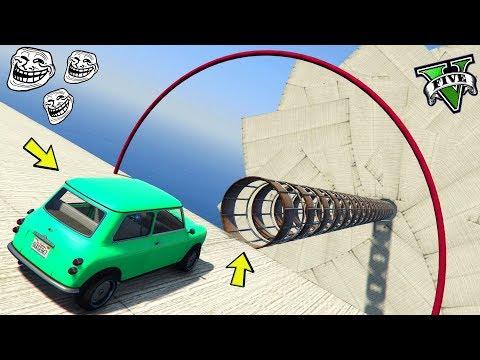 GTA 5 ONLINE 🐷 TUNNEL RARI TROLL !!! 🐷 GARE PARKOUR 🐷N*344🐷 GTA 5 ITA 🐷 DAJE !!!