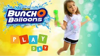 Water balloons play day