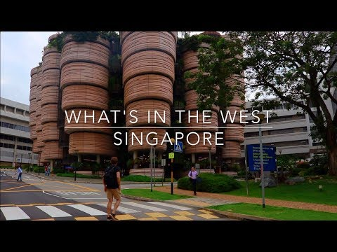 What's in the west? Singapore