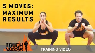 At Home Workout: 5 Move Circuit Training Workout for Maximum Results | Tough Mudder