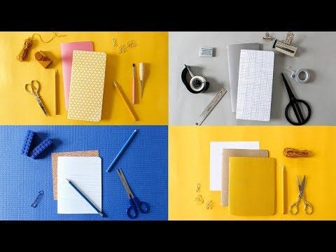 DIY BULLET JOURNAL | Custom Notebook & Planner