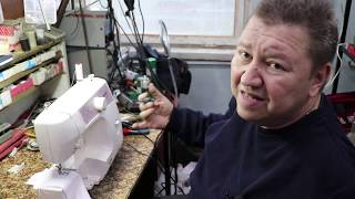 швейная машина, оверлок Brother LS-1520 обзор