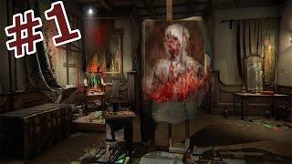 ホラーゲーム - 狂気の画家の精神世界を彷徨う - Layers of Fear 実況プレイ - Part1 thumbnail