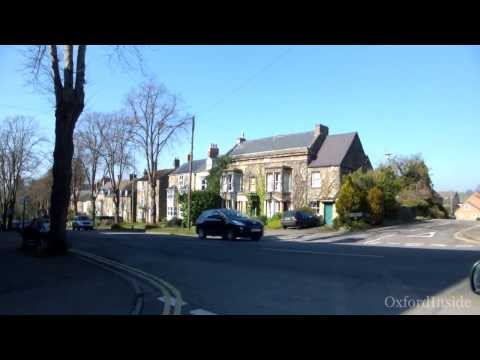 63. OxfordInside. Чиппинг Нортон из окна автомобиля, Англия. Chipping Norton, Cotswold, England