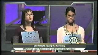 National Spelling Bee Champion 2011 - FINAL MOMENTS BEST!