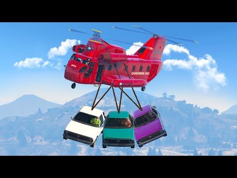THE CARGOBOB'S SECRET POWER! (GTA 5 Funny Moments)