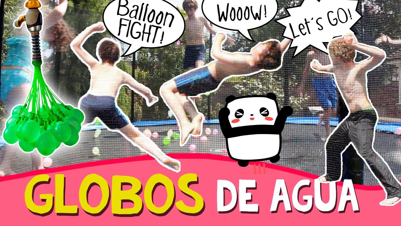 JUEGOS con Globos de AGUA * Juegos de VERANO para niños - YouTube