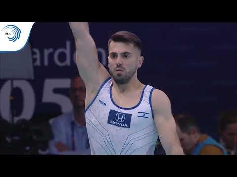 Andrey MEDVEDEV (ISR) - 2019 Artistic Gymnastics European Silver Medallist, Vault