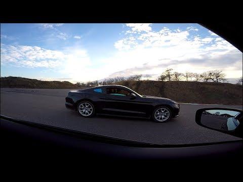 "Ford (Mustang)    vs     Infiniti G37s ...  ""Американская Ракета  """