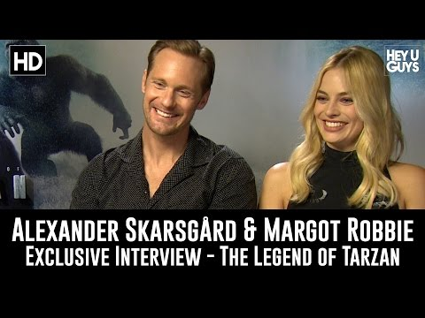 Alexander Skarsgard & Margot Robbie Exclusive Interview - The Legend of Tarzan