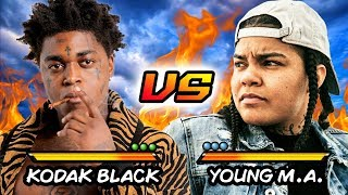 Kodak Black Said What About Young MA ??? Kodak Black Vs Young MA