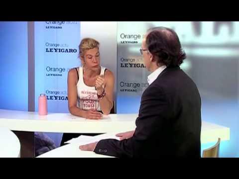 Interview de Frigide Barjot par Yves Thréad sur la Manif Pour Tous (22/04/13, ORANGE)