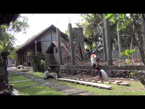 How to build a house on Bali #2 (Ubud) by Hans & Fifi