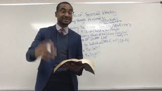 3 Elements of Successful Preaching ( The Gospel , Preaching Personally & Preaching with Personality)