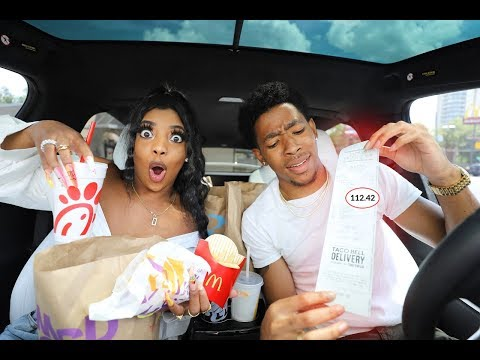 Letting The Person in FRONT of Us DECIDE What We Eat!