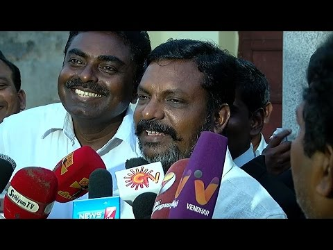 I Hope Vijayakanth Will Not Jump In a Deep Well - Thirumavalavan on Political Alliance